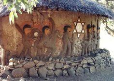 THE FALASHA SYNAGOGUE IN ETHIOPIA