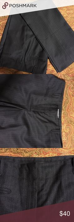NWOT pinstripe Ann Taylor pants NWOT. Fully lined, dry clean only Ann Taylor Pants Trousers