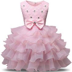 2017 Sleeveless Kid Dresses Girls Clothes Party Princess Dress