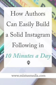 A step-by-step strategy to help authors grow your audience of ideal readers in less than 10 minutes a day on Book Writing Tips, Writing Resources, Writing Prompts, Print On Demand, Instagram Marketing Tips, Instagram Tips, Creative Writing, Book Publishing, Amazon Publishing