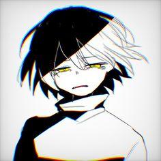 Anime Undertale, Undertale Cute, Frisk, Character Art, Character Design, Estilo Anime, Sad Art, Drawing Base, Dark Anime