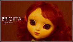 Brigitta ♥ Os presento a Brigitta, mi primogénita ... ella es mi primer full custom ☺