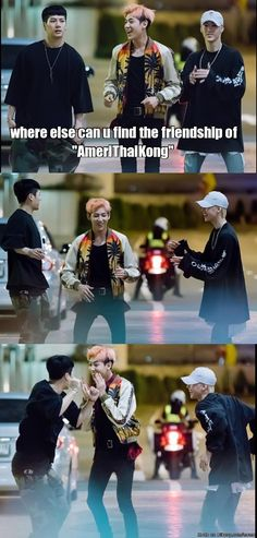 AmeriThaiKong on the street.. GOT only 3