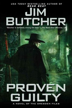 """Proven Guilty"" is the eighth book in The Dresden Files series by Jim Butcher.  The books are urban fantasy, and science fiction mystery novels.  These have adult themes, but if you don't mind that, then I would highly recommend these!  If you are a fan of the ""Supernatural"" T.V. series you would probably love these novels."