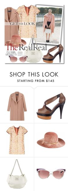 """Jet Set Style With DJ Mia Moretti & The RealReal: Contest Entry"" by clovers-mind on Polyvore featuring mode, Rochas, Marni, Eugenia Kim, Chanel et Yves Saint Laurent"