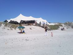 Strandkombuis in Yzerfontein - delicious seafood buffet right on the beach in an open air restaurant Open Air Restaurant, Seafood Buffet, Beach, Restaurants, The Beach, Beaches, Restaurant