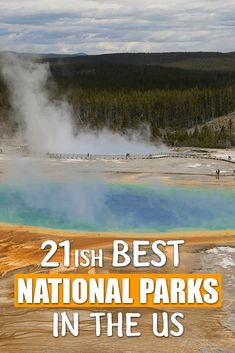 The United States National Park Service is over 100 years old. After our many travels around the US we have decided on the Best National Parks. Hawaii Volcanoes National Park, Yellowstone National Park, Yosemite National Park, National Parks, Visit Yellowstone, Us Road Trip, Camping Guide, United States Travel, Beautiful Places To Visit