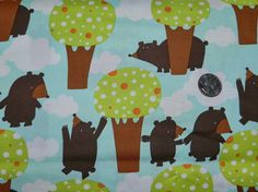 Bears Get Together - Fabric