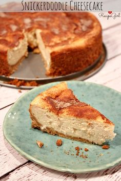 Snickerdoodle Cheesecake - RecipeGirl.com
