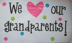 grandparents day crafts for preschoolers Grandparent's Day sign. Hang it up on the wall to greet the grandparents on Grandparent's Day sign. Hang it up on the wall to greet the grandparents on Grandparents Day Preschool, National Grandparents Day, Happy Grandparents Day, Mothers Day Crafts, Mother Day Gifts, Crafts For Kids, Classroom Crafts, Preschool Activities, Classroom Ideas