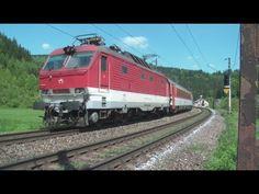 ZSSK 350.016 - EC 277 SLOVAN - Bezpráví - YouTube Train, Vehicles, Youtube, Strollers, Trains, Vehicle, Youtube Movies, Tools