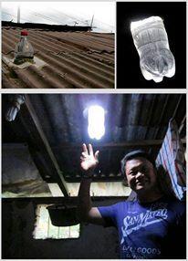 Luz artificial pet