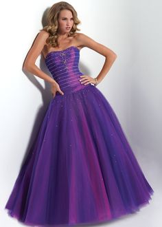 Mini-Length Strapless Sashes Cocktail/ Ball Gown/Quinceanera Dress