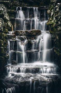 Lake Park Waterfall - Milwaukee, Wisconsin