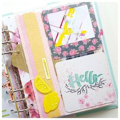 carladetaboada: Catching up with my PL. Apparently I love to use my sewing machine almost on every page, and Yes! I also love to add photos of my planners to my PL albums #projectlife2016