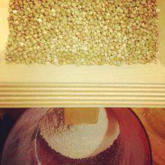 Organic buckwheat home ground
