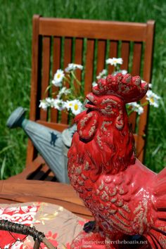 e3b6c284c176ef 84 Best Where the Rooster crows images | Hens, Couches, Country living