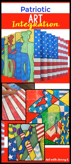 Collection Of Great Memorial Day Art Activities For Classroom Teachers From With Jenny K