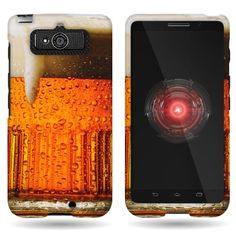 CoverON® Hard Slim Design Case for Motorola Droid Mini - with Cover Removal Pry Tool - Beer Mug CoverON