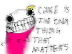 Hyperbole and a Half: The God of Cake - Blog full of Hilariousness!