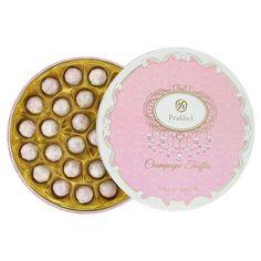 Pralibel Champagne Truffles Champagne Truffles, Gifts For Friends, Chocolate, Tableware, Costco, Food, Diva, Dinnerware, Tablewares