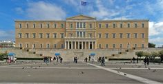 This was the Old Royal Palace in Athens.  The home of King George I, Queen Olga and their children, Constantine I, Alexandra, I, George II, Nicholas, Marie, Olga, Andrew and Christopher.