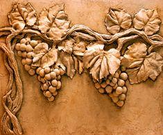 Bas Relief Sculpture, Plaster Wall Art - online and in-person classes. Plaster Sculpture, Plaster Art, Plaster Walls, Sculpture Clay, Wall Sculptures, Carving Designs, Ceramic Flowers, Mural Art, Clay Art