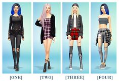 Heyy my dude, got any good grunge looks that this lil gay soul could steal? This was so fun lol :) ONE: Hair / Jumper / Jeans / Boots TWO: Hair / Cardigan / Dress / Socks / Boots THREE:. Sims Four, Sims 4 Mm, Marigold Sims 4, Tumblr Sims 4, Sims 4 Cas Mods, Sims 4 Challenges, Sims 4 Anime, Sims 4 Dresses, Sims 4 Cc Packs