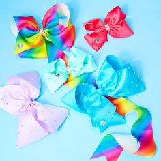 Have you checked out @itsjojosiwa latest additions to #JoJosBowParty  Organise all your bows with the rainbow bow holder | Item: 99129