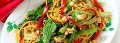 Asian Greens & Noodle Stir Fry