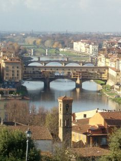 View of Florence, ITaly from the Piazzale Michelangelo: http://www.europealacarte.co.uk/blog/2011/01/29/things-to-do-tuscany/