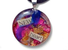 New Heart Inspirational Necklace by jewel4u on Etsy, $14.00