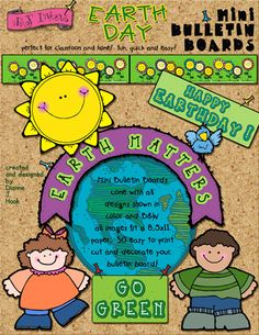 This week when you buy DJ's 'Earth Classroom Download', you'll get the coordinating 'Earth Matters' bulletin board for just $1!!! Add a smile to any recycling area, decorate the classroom for Earth Day... or just to show the world you care!  Deal ends April 15, 2015