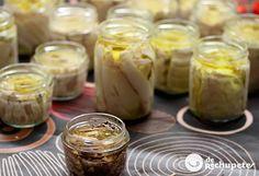 Unas conservas perfectas para todo el año, haga frío o calor. Podéis preparar miles de recetas, desde una simple ensalada, unas tostas,... Una receta de 10.