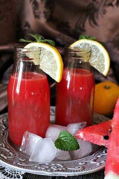 Görögdinnyés limonádékoktél