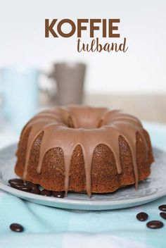 Koffie Tulband - Schepje Suiker Cake Cookies, Cupcake Cakes, No Bake Desserts, Dessert Recipes, Cake Recept, Fondant, Coffee Recipes, High Tea, Baking Recipes