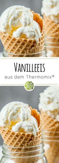 Vanilleeis aus dem Thermomix®️ mit TM31 und TM5®️, mit und ohne Eismaschine