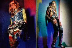 Carola Remer by Greg Kadel for Vogue German January 2012