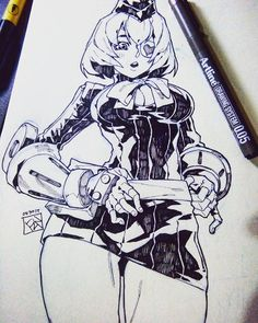 Aprile from Street Fighter, commissioned by bosida ! #illustration #drawing #art #artwork #traditionalart #fanart #streetfighter #girl