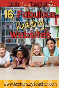 a list of the 16 best reading websites for elementary students