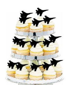 Jet Fighter Picks Cake Toppers for Cakes and Cupcakes/Foo... https://smile.amazon.com/dp/B01MZ07E5A/ref=cm_sw_r_pi_dp_x_TMM8zbPYEME6W