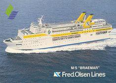 Fred Olsen - Nordsøen Ferry Postkort
