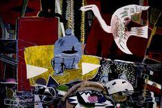 "Georges Braque ""the Studio (VIII)"" 1954 Oil on canvas, Coleccion Madaveu, Oviedo, Spain"