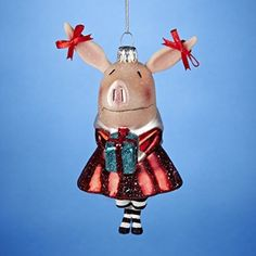We all know people who love pig-themed items - here is a list of adorable Chirstmas ornaments that make perfect gifts for them... or yourself!