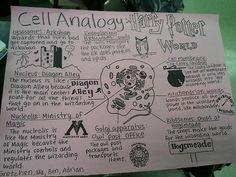 Cell analogy, like a BOSS!