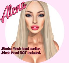 ::LV:. Alena applier for Bimbo Mesh Head, Mesh Head not included!