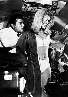Tony Curtis & Sharon Tate