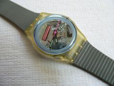Swatch Watch.  I had this one!  And of course you couldn't have just one Swatch, you had to have two or three and stack them like bracelets!