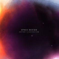 espaço colorido fundo