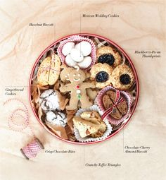 How to make perfect Cookie Tin. Tips from @williamssonoma on creating the perfect cookie gift package.